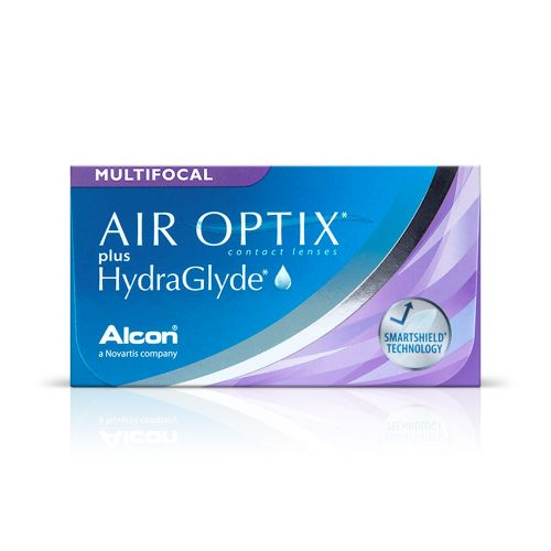 Air Optix plus Hydraglyde Multifocal 6 pack