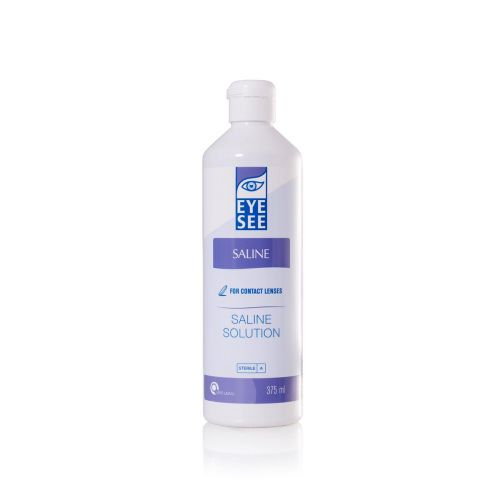 Eye See Saline Solution 375ml